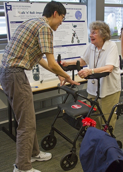 Next generation walker for elderly patients